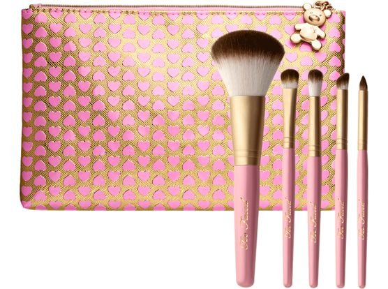 Teddy Bear Hair 5 Piece Brush Set