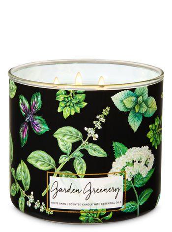 Garden Greenery 3-Wick Candle