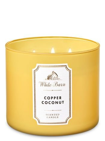 Copper Coconut 3-Wick Candle
