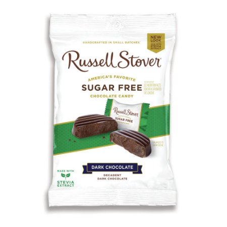 Russel Stover Sugar Free Dark Chocolate Medallions