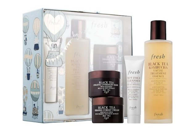 Fresh Black Tea Firming Beauty Bundle Gift Set - Edição Limitada