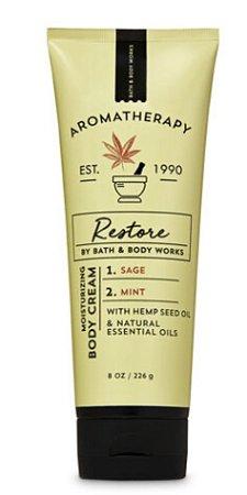 Aromatherapy Sage Mint Body Cream