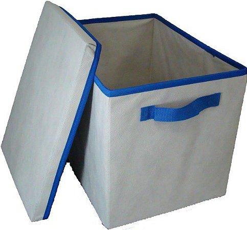 Caixa Organizadora 28x31x38 - com tampa - alça ou ilhós