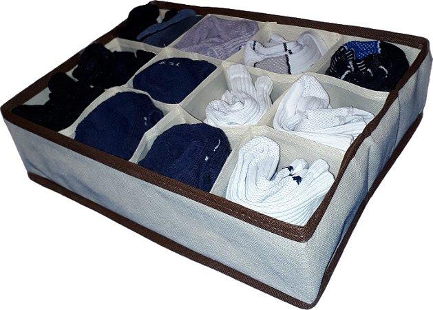 Organizador de gaveta meia calcinha roupa intima colmeia