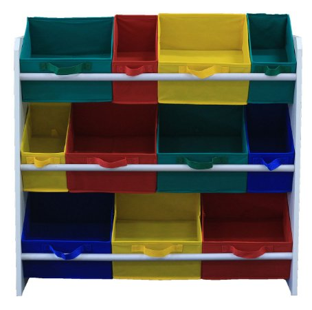organizador infantil porta brinquedos montessoriano organibox colorido