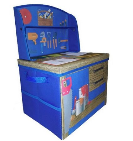 caixa bancadinha baú porta  brinquedo  marcenaria montessoriana