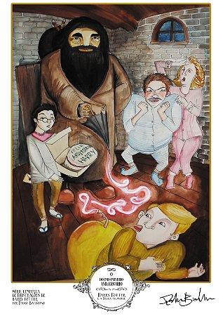 Pôster - O Décimo-Primeiro Aniversário (Harry Potter #2) - Edição Comemorativa Especial Limitada