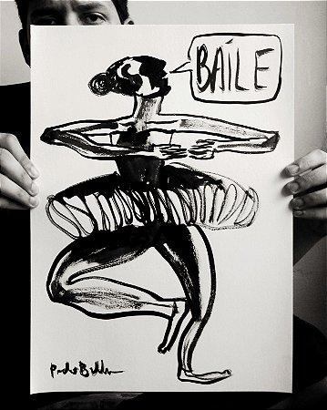"""Desenho Original """"Báile"""", 2019"""