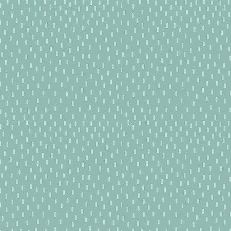 TECIDO 100% ALGODÃO FABRICART COLEÇÃO MONSTRINHOS - CHUVA AZUL NUVEM - PREÇO DE 0,50 x 1,50