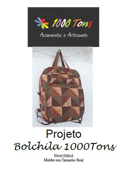 PROJETO BOLCHILA 1000TONS