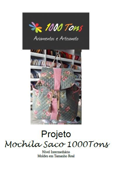 PROJETO MOCHILA SACO 1000TONS