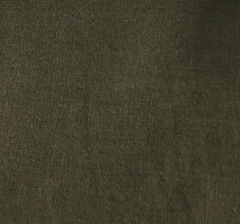 TECIDO LINHO LISO- COR VERDE MUSGO- PREÇO DE 0.50 x 1,50