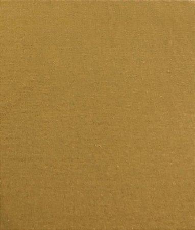 TECIDO LINHO LISO- COR CARAMELO- PREÇO DE 0.50 x 1,50