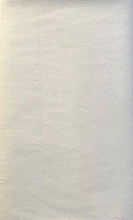 TECIDO LINHO LISO- COR OFF WHiTE- PREÇO DE 0.50 x 1,50