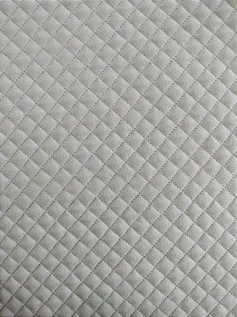 TECIDO MATELASSADO SARJA CINZA MINI RETO  - PREÇO DE 0.50 x 1,50