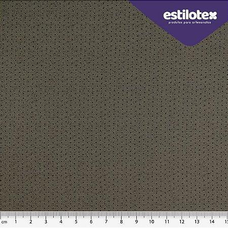 TECIDO 100% ALGODÃO ESTILOTEX -MICRO POÁ CHIQUE TONS DE CINZA CHUMBO- PREÇO 0,50M X 1,50M