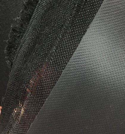 NYLON 600 PRETO - PREÇO 0,50MT X 1,50MT