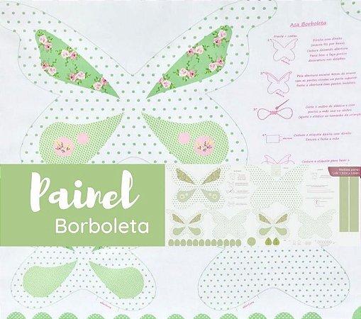 PAINEL PARA BORBOLETA - VERDE