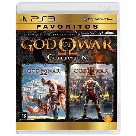 God of War Collection - PS3 - Usado