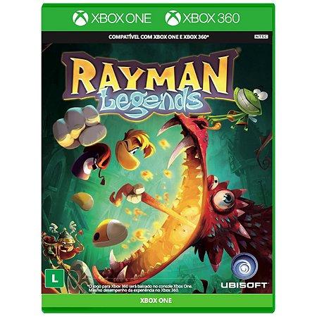 Rayman Legends - XBOX 360 / XBOX ONE - Novo