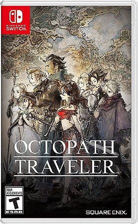 Octopath Traveler - SWITCH - Novo [EUA]