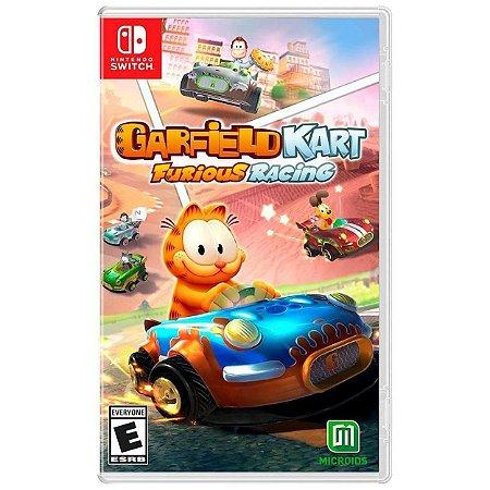 Garfield Kart Furious Racing - SWITCH - Novo [EUA]