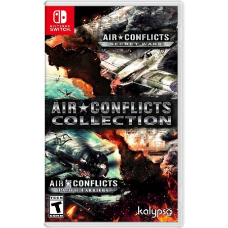 Air Conflicts Collection Double Pack - SWITCH - Novo [EUA]