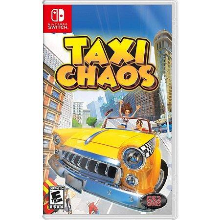 Taxi Chaos - SWITCH - Novo [EUA]