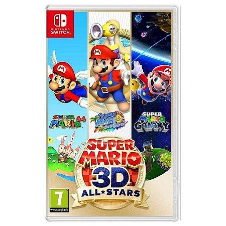 Super Mario 3D All Stars - SWITCH - Novo [EUROPA]