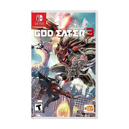 God Eater 3 - SWITCH - Novo [EUA]