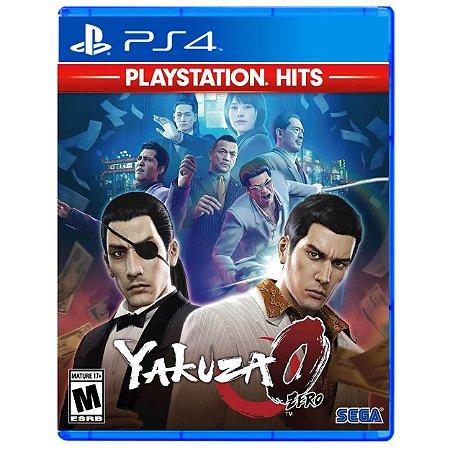 Yakuza 0 (PlayStation Hits) - PS4 - Novo