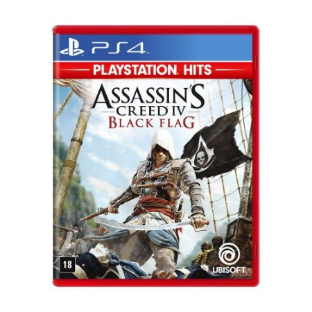 Assassin's Creed IV Black Flag (PlayStation Hits) - PS4 - Novo