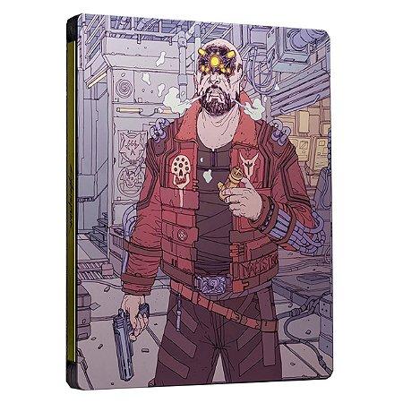 Cyberpunk 2077 Edição Steelbook Maelstrom - PS4 / PS5 - Novo
