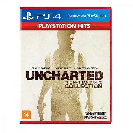 Uncharted The Nathan Drake Collection (PlayStation Hits) - PS4