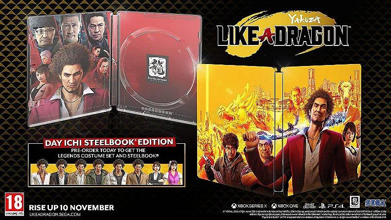 Yakuza Like A Dragon Day Ichi Steelbook Edition - PS4