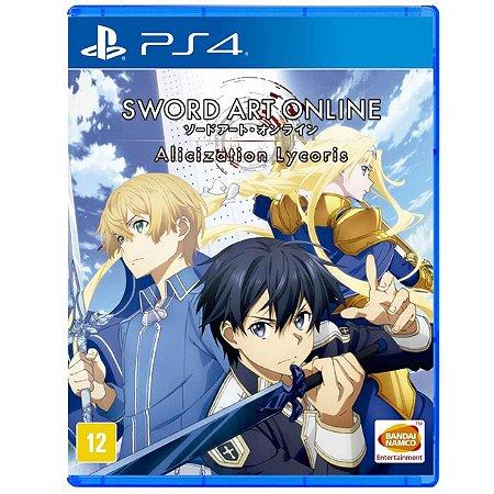 Sword Art Online Alicization Lycoris - PS4 - Usado