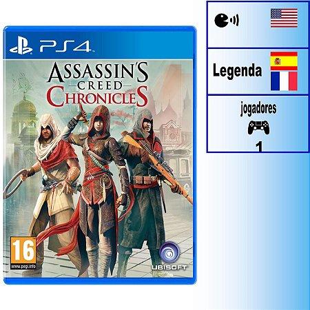 Assassin's Creed Chronicles - PS4 - Novo