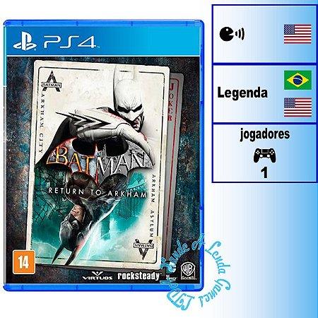 Batman Return to Arkham - PS4 - Novo
