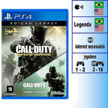Call of Duty Infinite Warfare Edição Legacy - PS4 - Novo