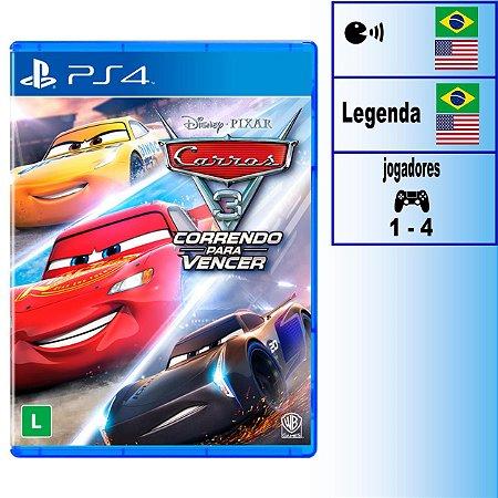 Carros 3 Correndo Para Vencer - PS4 - Novo