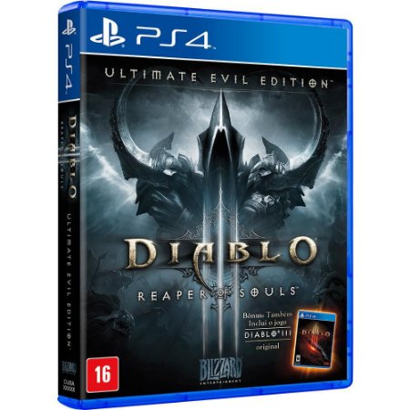 Diablo 3 Reaper of Souls Ultimate Evil Edition - PS4 - Novo