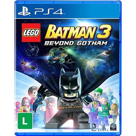 Lego Batman 3 Beyond Gotham - PS4 - Novo