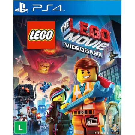 Lego The Movie Videogame - PS4 - Novo
