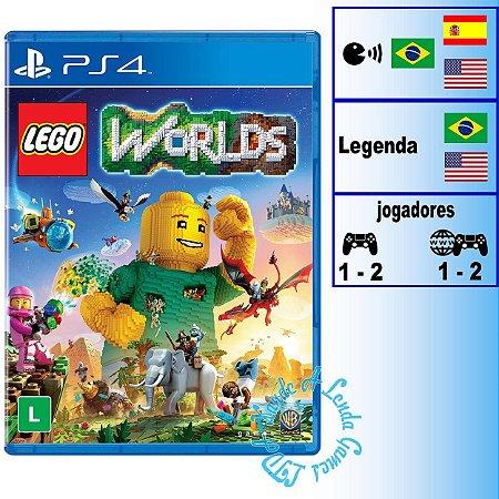 Lego Worlds - PS4 - Novo