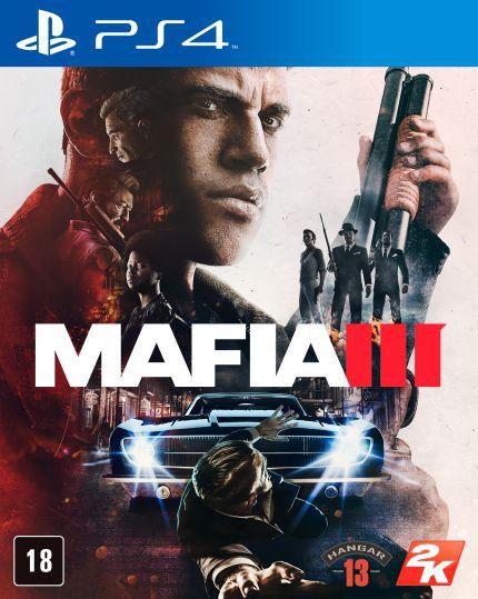 Máfia 3 - PS4 - Novo