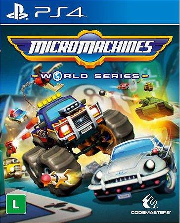 Micro Machines World Series - PS4 - Novo