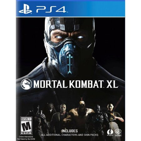 Mortal Kombat XL - PS4 - Novo