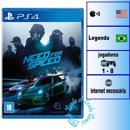 Need for Speed 2015 - PS4 - Novo