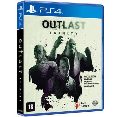 Outlast Trinity - PS4 - Novo