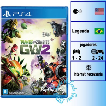 Plants vs Zombies Garden Warfare 2 - PS4 - Novo